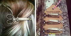 Jane.com etsy & tumblr original  Lovely Scissor Bobby Pins - 2 Colors