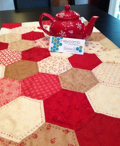 Heather's Hexy Table Topper