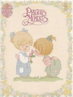 Good Friends Are Forever, Designs by Gloria & Pat Counted Cross Stitch Pattern Booklet PM31 Precious Moments Collection