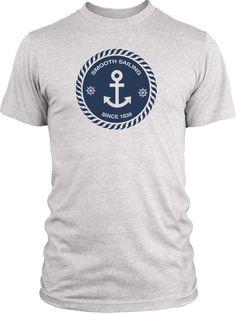 Big Texas Smooth Sailing (Blue) Vintage Tri-Blend T-Shirt