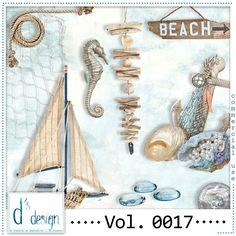 Pack Nautical Mix Commercial Use Vol. 0017 de la boutique DsDesignDigital sur Etsy