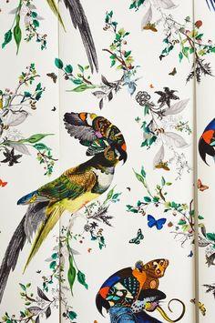 Inspiration déco autour du papier-peint, avec une sélection entre bohème, floral…
