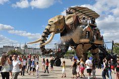 Le Grand Éléphant - © Jean-Dominique Billaud - Les machines de Nantes