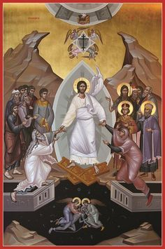 Byzantine Icons, Byzantine Art, Religious Icons, Religious Art, Greek Icons, Roman Church, Catholic Pictures, Alchemy Art, Christ Is Risen