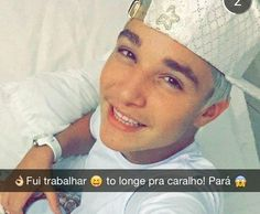 Snapchat oficial do MC Gui