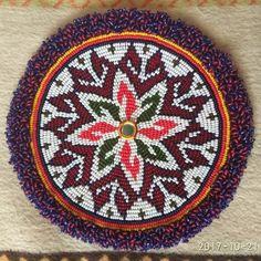 Трайбл-мастерская (Tribal workshop)    Как сделать бахрому на бисерном круге    https://vk.com/tribal_workshop?w=wall-117567105_8