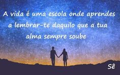 A vida é uma escola  #vida #escola #alma #espiritualidade #boatarde #amor #saber #universo #tw #sê #pensamento