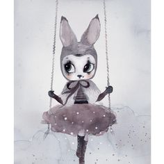 Miss Astrid Limited Edition Print by Mrs Mighetto – Junior Edition