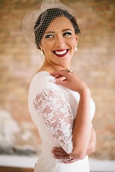 Inspired by all things retro? Apply matte burgundy lipstick for a beautiful jolt of color in your photos. Natural Wedding Makeup, Bridal Hair And Makeup, Wedding Hair And Makeup, Bridal Beauty, Burgundy Matte Lipstick, Wedding Prep, Wedding Ideas, Wedding Stuff, Wedding Planner