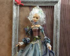 Fairy Doll, Art Dolls, OOAK Art Doll, Hand made doll , Alice