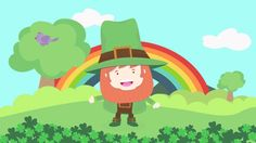 "It's ""I'm a Little Leprechaun!"" for St. Patrick's Day.  Follow the story of this adorable Little Leprechaun.   #kidsmusic   #stpatricksday"