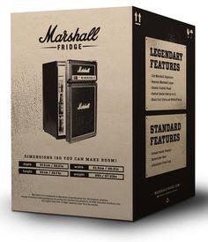 Marshall Fridge – Package Design on Behance Packaging Design Inspiration, Graphic Design Inspiration, Carton Design, Marshall, Modern Web Design, Box Design, Layout Design, Box Packaging, Business Card Design