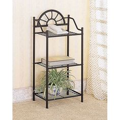 Coaster Company of America Sunburst End Table Plant Stand -- Trust me, this is great! Click the image. : Display Stands Home Decor