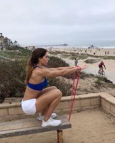 "Gefällt 17.8 Tsd. Mal, 152 Kommentare - Alexia Clark (@alexia_clark) auf Instagram: ""Beach Workout! 1. 15 reps 2. 12 each side 3. 20 reps 4. 12 reps 3-5 rounds #alexiaclark…"""