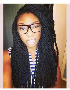 Marley Twists - This might be my protective style for the winter...hmmm...