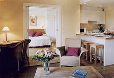 Un exemple d'appartement 2 pièces pour 4 personnes