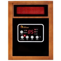 Dr Infrared Heater Original 1500-Watt Infrared Portable Space Heater with Dual Heating System Portable Electric Heaters, Portable Space Heater, Portable Fan, Best Space Heater, Dual System, Infrared Heater, Solar Panels For Home, Canned Heat, Camping