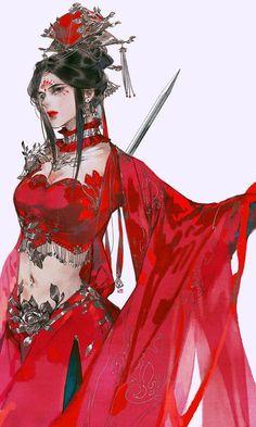 Beautiful Fantasy Art, Beautiful Anime Girl, Korean Art, Asian Art, Female Character Design, Character Art, Anime Art Girl, Manga Art, Asian Style
