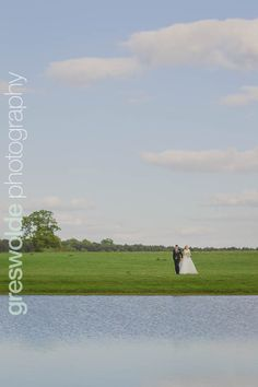 Landscape of the bride and groom by the lake at Somerford Hall Groom, Wedding Photography, Wedding Ideas, Bride, Landscape, Wedding Bride, Scenery, Bridal, Grooms
