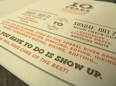Bob and Soledad Anniversary Party Invitations | Michael Musser