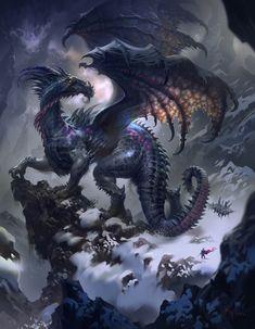 Dragon Poster by Ivan Laliashvili