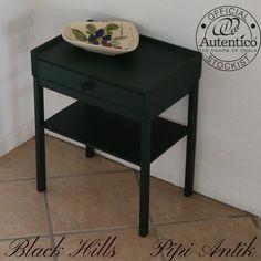 Black Hills mørkegrøn Autentico natbord - bestillingsarbejde