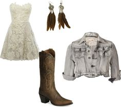 "The ""im going out"" country outfit :), created by chandreh on Polyvore"