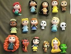 Disney Princess funko mystery minis set of 17 snowgie Pascal rares walgreens