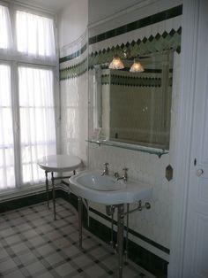 Salle de bain verte - Musée Camondo