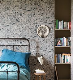 arrow & Ball Farrow & Ball makes some of the best paint colors of. all. time. So it's no surprise their wallpapers are instant classics too. The latest collection puts a new spin on cloud, paisley, and leaf motifs. (Tourbillon, $225/roll, farrow-ball.com)