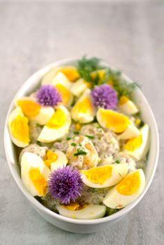 Scandinavian Potato, Egg, and Dill Salad