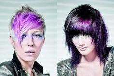 Purple Hair Color For Short Hair Scene Hair Style And Hair Color Ideas