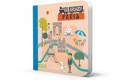 All Aboard Paris: A French Primer - Board Book
