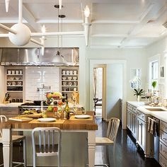 Light Gray Kitchen Cabinets, Contemporary, kitchen, Abby Wolf Weiss Interiors