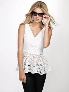 GUESS Crochet Lace Peplum Top, TRUE WHITE (LARGE) GUESS,http://www.amazon.com/dp/B00D3OKZEG/ref=cm_sw_r_pi_dp_i6G3rb1VFPRXG8X4