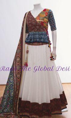 CHOLI-[navratri_chaniya_choli]-[chaniya_choli_online_USA]-[chaniya_choli_for_garba]-[chaniya_choli_for_navratri]-Raas The Global Desi Garba Dress, Navratri Dress, Choli Dress, Lehenga Choli, Lehenga Blouse, Bridal Lehenga, Choli Blouse Design, Choli Designs, Fancy Blouse Designs