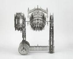 Wim Delvoye - Gothic Works