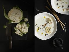 We loved this recipe by Nicky&Max on our toxin cleanse.   Cauliflower Coconut and Sesame Soup www.nicky&max.com