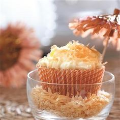 Tropical Breeze Cupcakes from Pillsbury® Baking will make you feel like you're at the beach! Muffin Recipes, Cupcake Recipes, Dessert Recipes, Cupcake Ideas, Yummy Recipes, Sweet Desserts, Dessert Ideas, Cupcake Wars, Meals