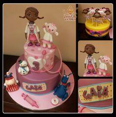 Torta Dottoressa Peluche -  Doc. Mc Stuffin's Cake