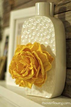 Flower Vase {Anthropologie Inspired}