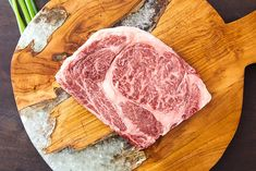 The Japanese Wagyu Chuck Steak has clean-taste with a satisfying mouth-feel which complements the well-rounded steaky flavor. Imagine an Wagyu Ribeye, but that you can eat much more of in one sitting. Wagyu Ribeye, Marbled Beef, Meat Delivery, Chuck Steak, New Farm, Best Meat, Biodegradable Products, Crowd