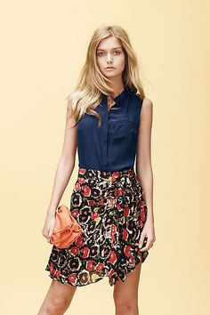 LOVE this skirt. Just got it the other day!  #anthropologie