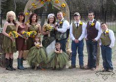 Camo wedding by A New Beginning Florist-Moore, OK. Camo Wedding, New Beginnings, Tulle, Fashion, Moda, Fashion Styles, Tutu, Fashion Illustrations, Mesh