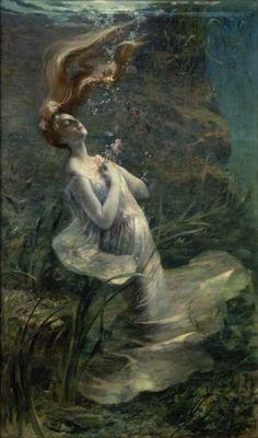 Ophélie, Paul Albert Steck, 1895