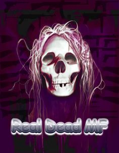 Real Dead MF with guns, Digital Art, Gareth Pritchard, made with GIMP.
