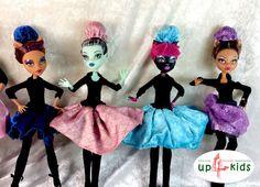 Ballett Fashion Outfit Monster High Ever After High 6814039 Puppenkleid Tütü Ballerina Puppenkleidung Puppenkleid