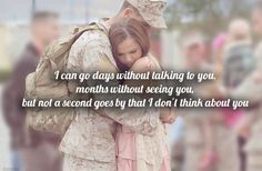 Military Love for those women and men whose spouses serve. That's why I used to hate summers, because that's when he get deployed overseas for months. We weren't the conventional couple who gets to spend summers together. Usmc Love, Marine Love, Military Love, Military Letters, Proud Army Girlfriend, Air Force Girlfriend, Deployed Boyfriend, Marine Girlfriend Quotes, Marine Boyfriend