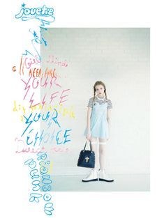Tokyo based fashion brand Jouetie reveals fun and playful imagery for its Spring / Summer 2014 collection. Lookbook Layout, Lookbook Design, Stil Inspiration, Graphic Design Inspiration, Fashion Graphic Design, Graphisches Design, Layout Design, Editorial Layout, Editorial Design