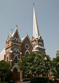 St Mary Help of Christians Church. Aiken, SC. Constructed in 1905. Also on the grounds is St. Claire's Chapel from 1879.
